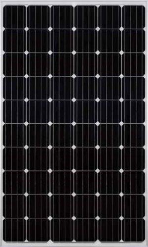 Solar panel - Mono crystalline x60 standard PERC - silver color